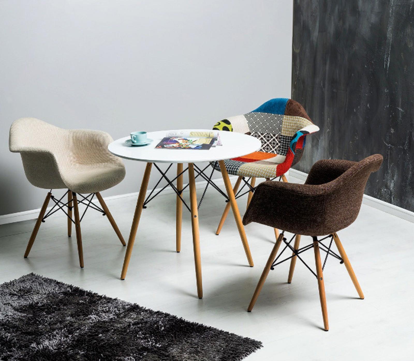 étkező asztal, étkezőasztal, galant étkezőasztal, krémszínű étkezőasztal, üvegasztal