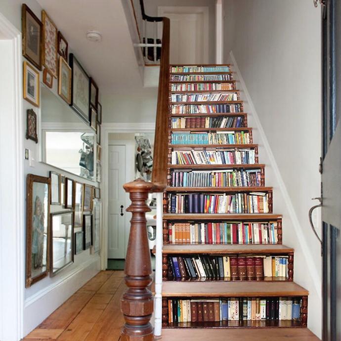 lépcső polc